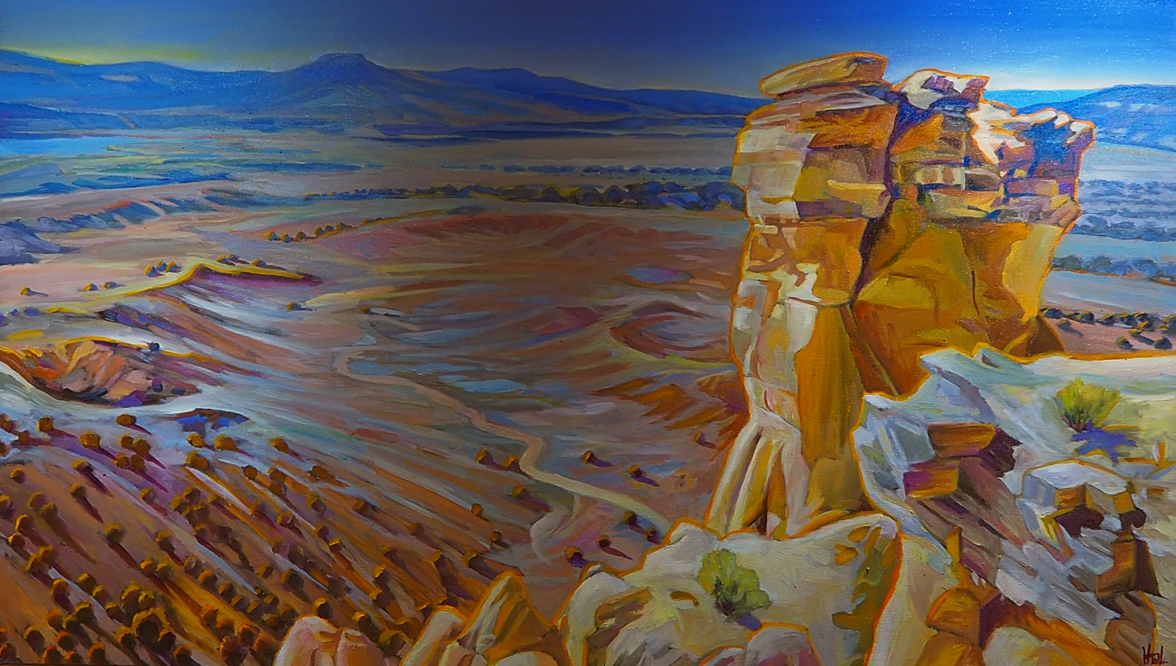 Chimney Rock Ghost Ranch Taos New Mexico Art